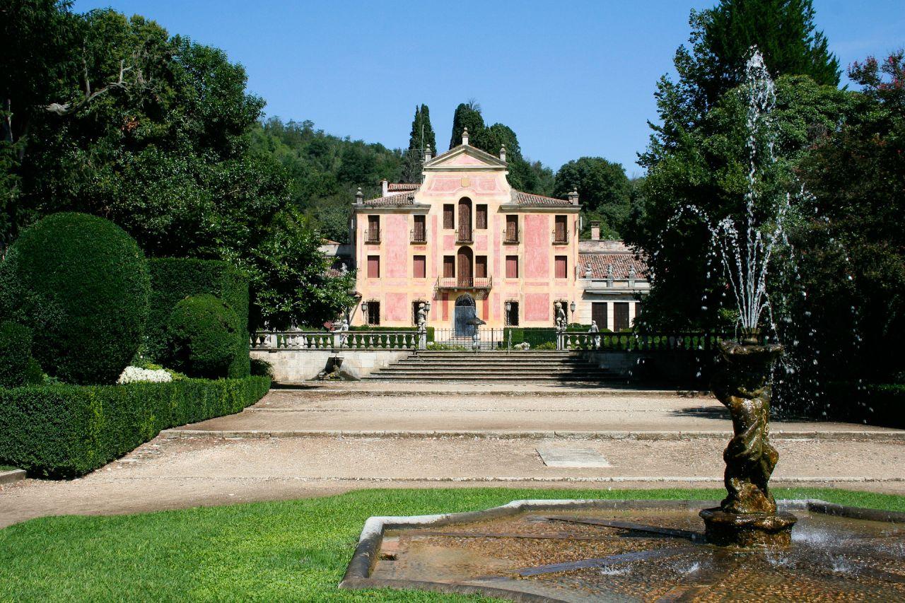 Giardino Di Villa Barbarigo A Valsanzibio Colli Euganei
