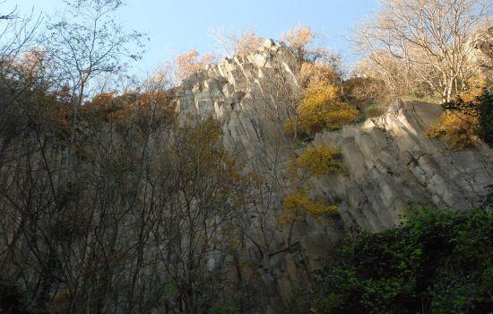 Cava di Riolite sul monte Cinto