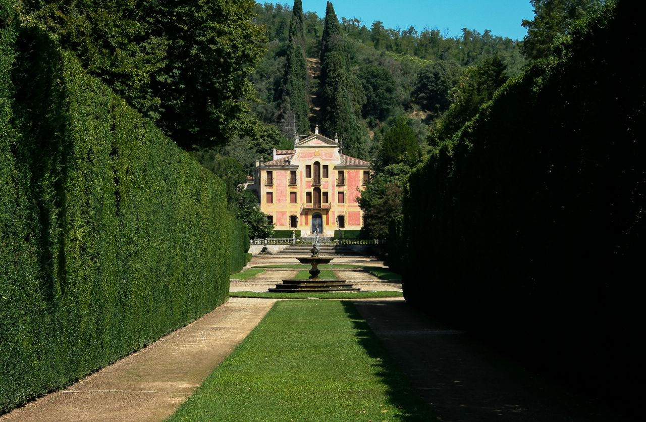 Giardino Di Villa Barbarigo A Valsanzibio