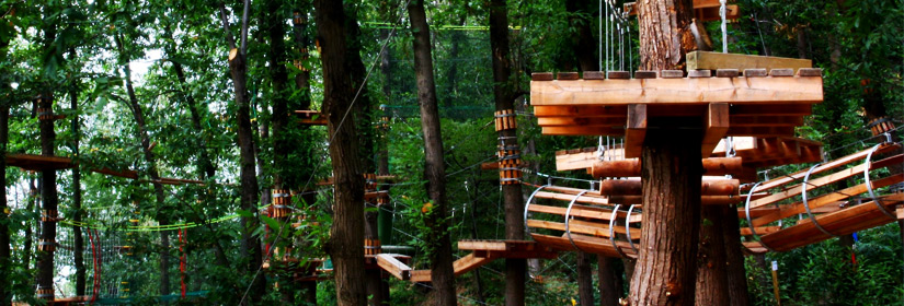 Adventure Parks in Euganean Hills