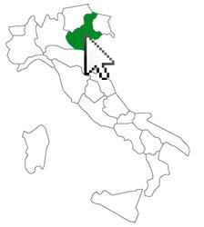 Euganean Hills Map